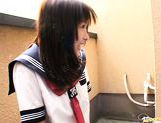 Ai Hiyoshi Hot Japanese schoolgirl has sex for fun picture 2