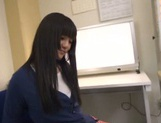 Asian Rei Mizuna enjoying naughty adventures at school picture 6