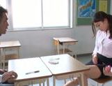 Sexy teacher uses vibrator for satisfaction picture 13