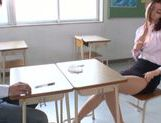 Sexy teacher uses vibrator for satisfaction picture 15