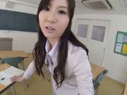Yui Tatsumi likes to play naughty and wild