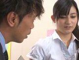 Shameless Japanese teacher Mira Tamana fucked by horny guys