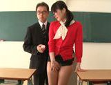 Sexy teacher Kana Yume likes to play with pussy picture 13
