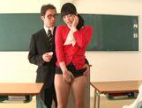 Sexy teacher Kana Yume likes to play with pussy picture 14