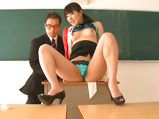 Kana Yume hot Asian milf is a horny teacher