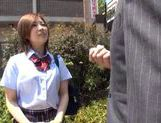 Sexy Japanese AV Model teen in uniform hot blowjob and hardcore sex