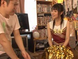 Hot Cheerleader Sex With Teen Tsubomi Riding A Dick