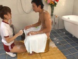 Sexy Teen Masseuse Erika Kashiwagi Gives Him The Perfect Release