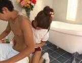 Sexy Teen Masseuse Erika Kashiwagi Gives Him The Perfect Release