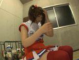 Hot cheerleader Kokomi Naruse teen fuck! picture 12