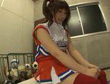 Hot cheerleader Kokomi Naruse teen fuck! picture 13