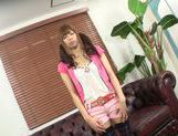 Cute Japanese teen amateur gets her slit teased POV