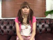Cute Japanese teen amateur gets her slit teased POV
