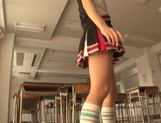 Japanese AV Model is a sexy teen cheerleader picture 12