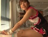 Japanese AV Model is a sexy teen cheerleader picture 3