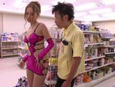 Asami Ogawa fucks for the shop's camera picture 13