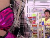 Asami Ogawa fucks for the shop's camera picture 9