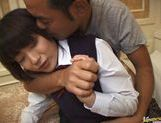Sexy Japanese schoolgirl gets experience in hardcore anal banging