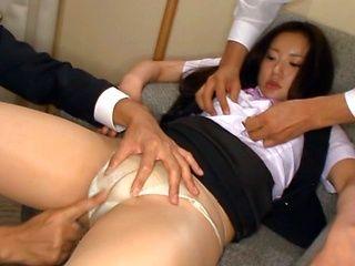 Meisa Aoi Asian model has lingerie sex