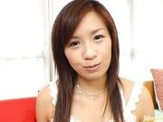 Wild babe Marin Hoshino receives facial cumshot