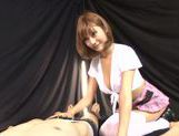 Horny schoolgirl Kirara Asuka pleases male with oral picture 15