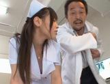 Juri Sakuraji's Teen Nurse Body Works In Getting Him Off