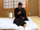 Marie Sugitomo Takes A Deep Drilling In A Kimono picture 14