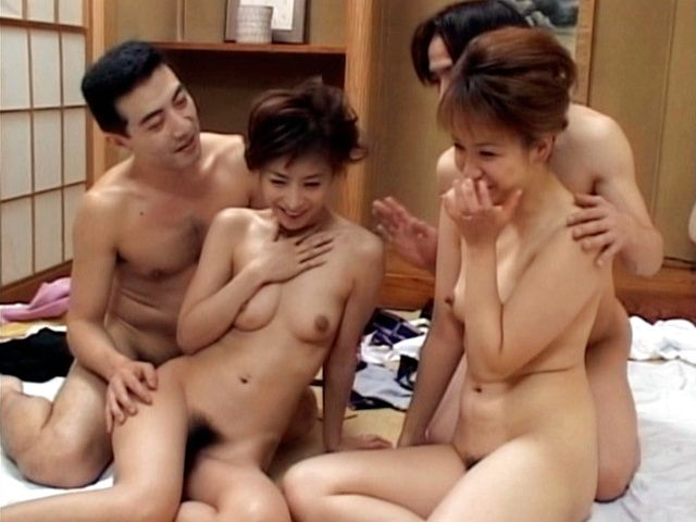 Mio Okazaki and Uzushino hot Asian gangbang