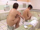Juri Yamaguchi Naughty Asian model in public bath picture 13