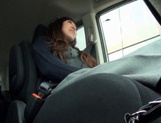Beautiful Amateur MILF Gets Fucked Deep In A Car picture 14