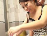 Hot Asian soap queen enjoys sex picture 7