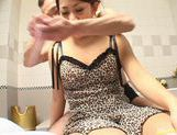 Hot Asian soap queen enjoys sex picture 8