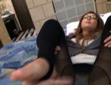 Lara Mizuki is a hot brunette who loves a good dick riding. picture 11
