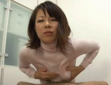Yuna Haruma's Oiled Up Boobs In A Shirt Are Good For A Tit Fuck
