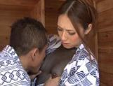 Hot Asian milf Misuzu Takashima in hardcore action picture 4