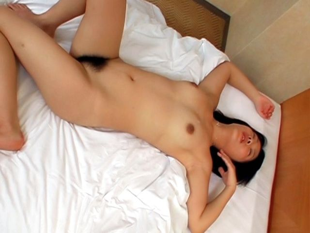 Hot Japanese babe dick riding like crazy
