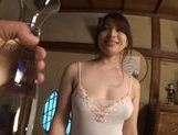 Hot Ren Mukai Jerks And Foot Fucks Dick To Orgasm picture 4