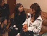 Kinky Japanese wife has hot sex action