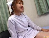 Hot Asian nurse has sex at work picture 7