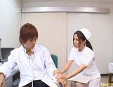 Manaka Kazuki Hot Japanese nurse is kinky picture 10