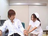 Manaka Kazuki Hot Japanese nurse is kinky picture 11