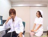 Manaka Kazuki Hot Japanese nurse is kinky picture 5