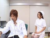 Manaka Kazuki Hot Japanese nurse is kinky picture 9