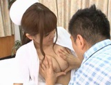 MILF Nurse Erika Kashiwagi Takes A Creampie From A Patient picture 10