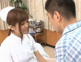 MILF Nurse Erika Kashiwagi Takes A Creampie From A Patient picture 2