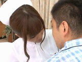 MILF Nurse Erika Kashiwagi Takes A Creampie From A Patient picture 5