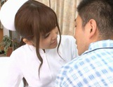 MILF Nurse Erika Kashiwagi Takes A Creampie From A Patient picture 6