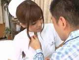 MILF Nurse Erika Kashiwagi Takes A Creampie From A Patient picture 7