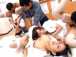 Kinky nurse getting hot action