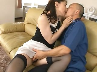 Hot milf Marina Matsumoto gets deep penetrating fuck